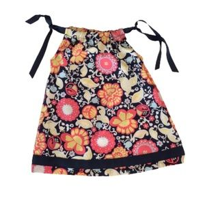 Hanna Andersson Multicolor Floral Print Sundress 2